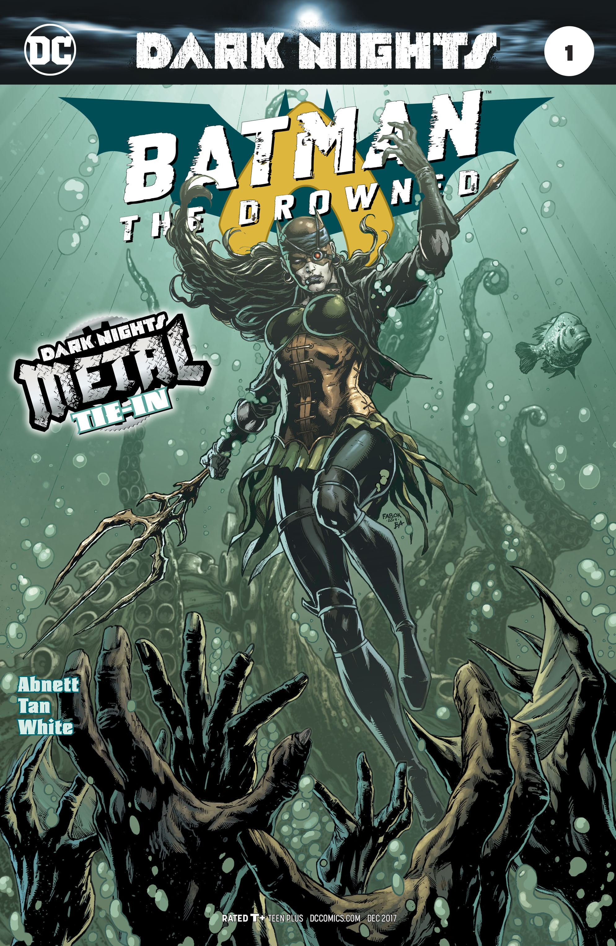BATMAN THE DROWNED #1 (METAL)