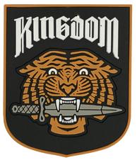 WALKING DEAD KINGDOM FACTION KEYCHAIN