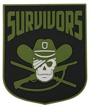 WALKING DEAD SURVIVORS FACTION KEYCHAIN