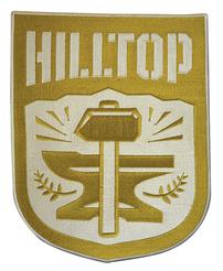 WALKING DEAD HILLTOP FACTION 4 INCH PATCH