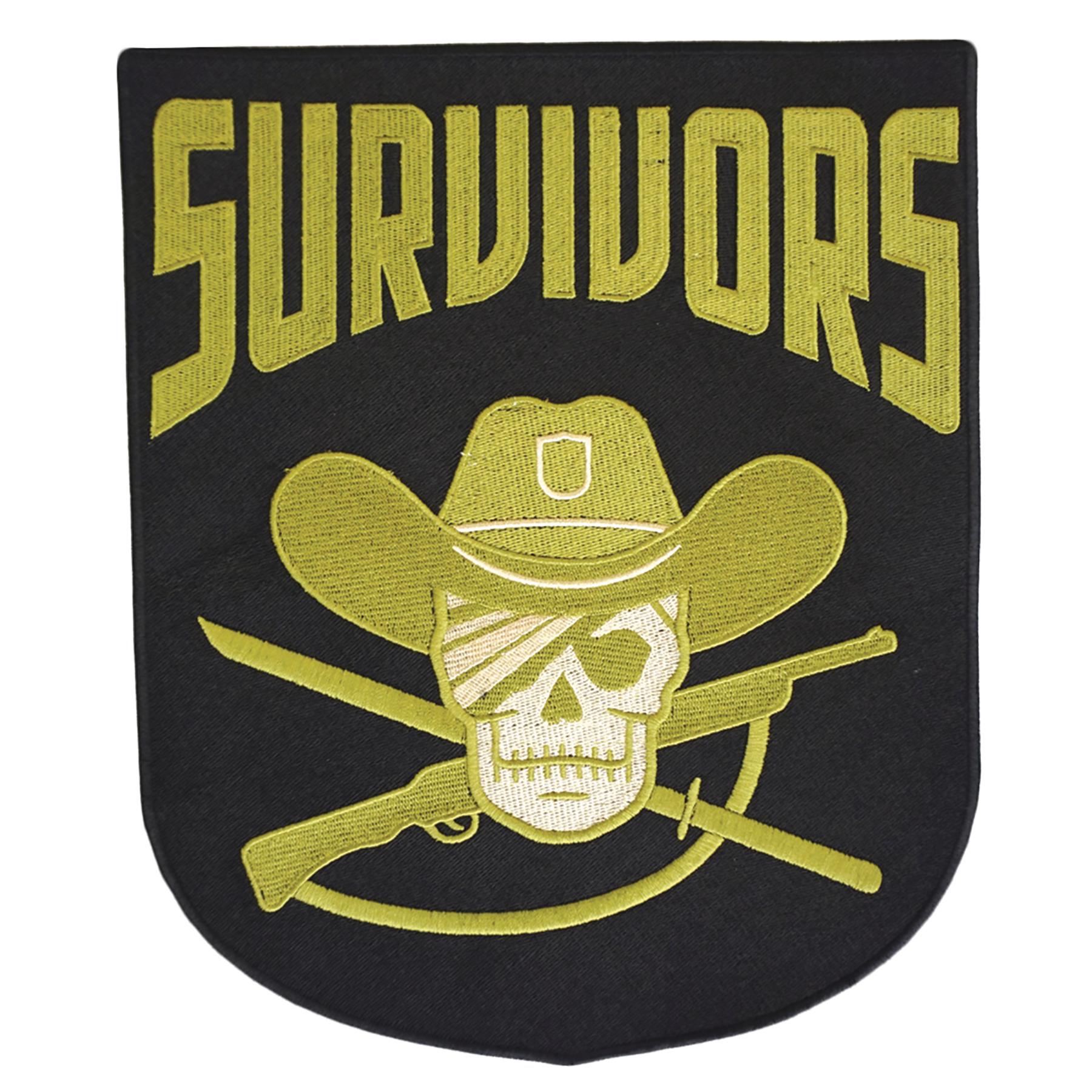 WALKING DEAD SURVIVORS FACTION 4 INCH PATCH