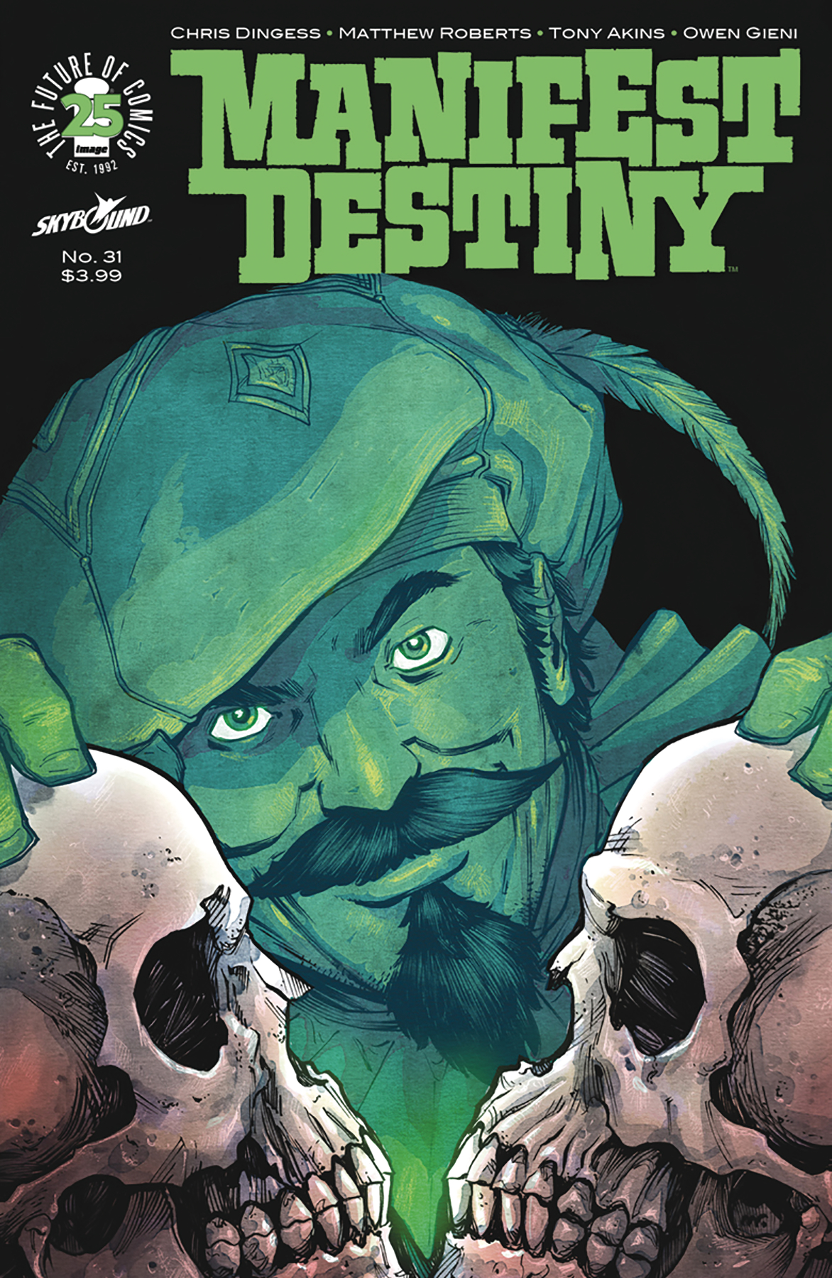 MANIFEST DESTINY #31 (MR)