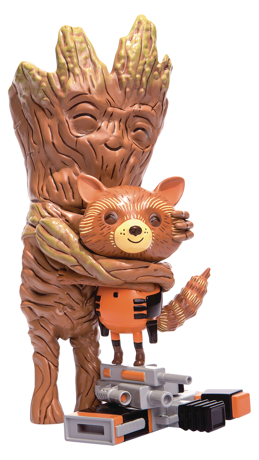 GOTG ROCKET & GROOT TREEHUGGER 9IN COLLECTIBLE VINYL FIGURE