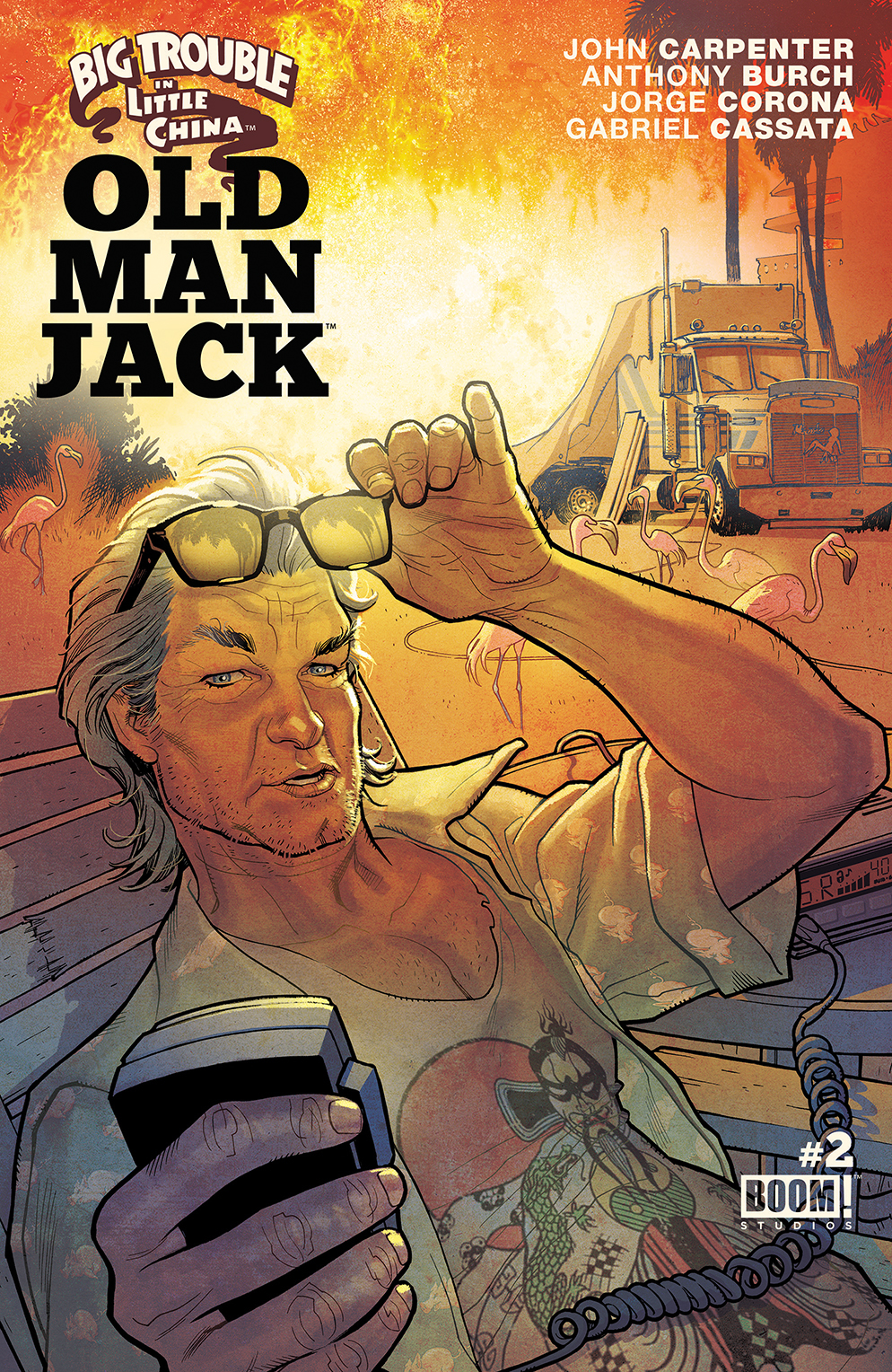 BIG TROUBLE IN LITTLE CHINA OLD MAN JACK #2 MAIN & MIX