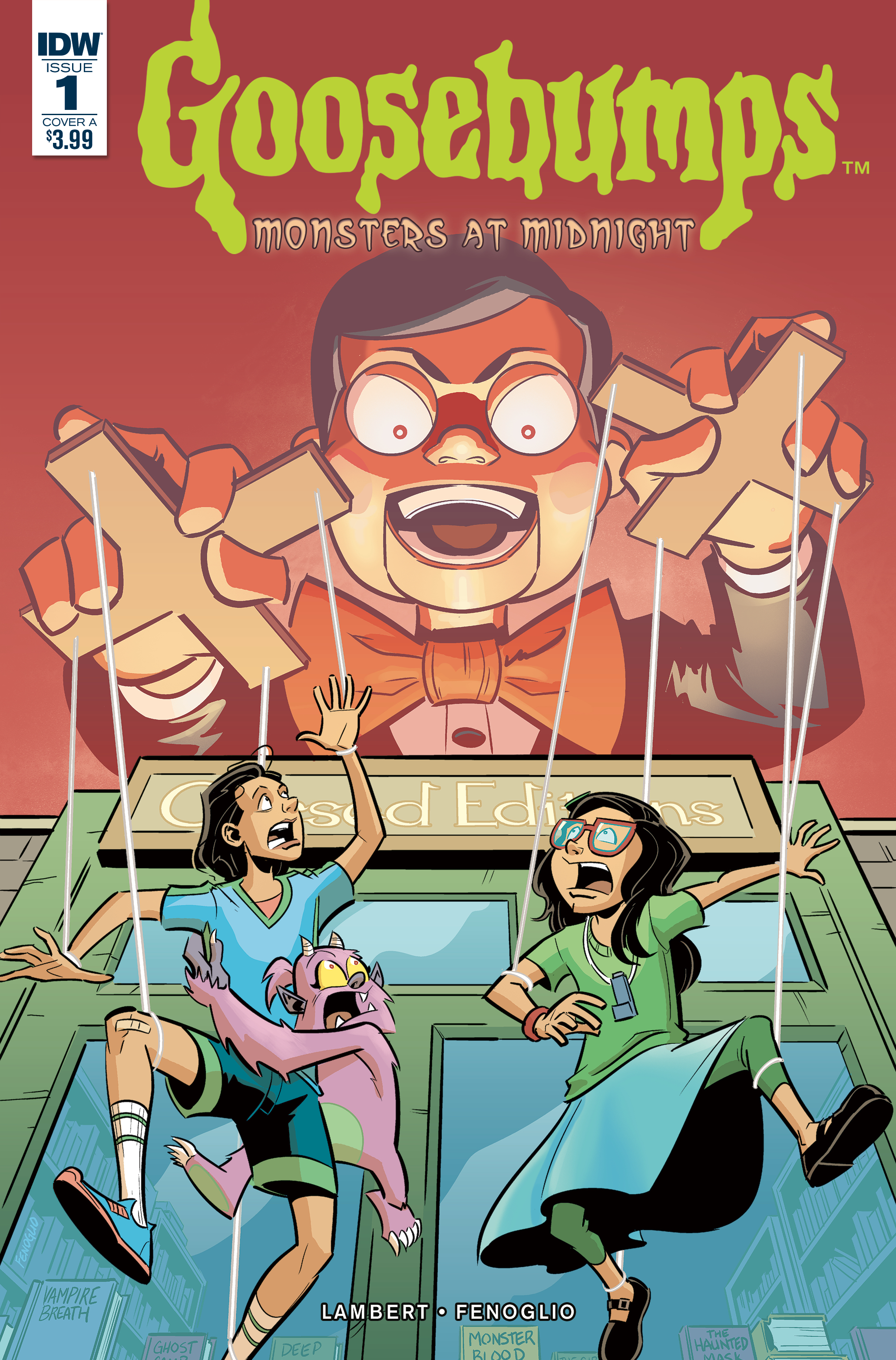 GOOSEBUMPS MONSTERS AT MIDNIGHT #1 (OF 3) CVR A FENOGLIO
