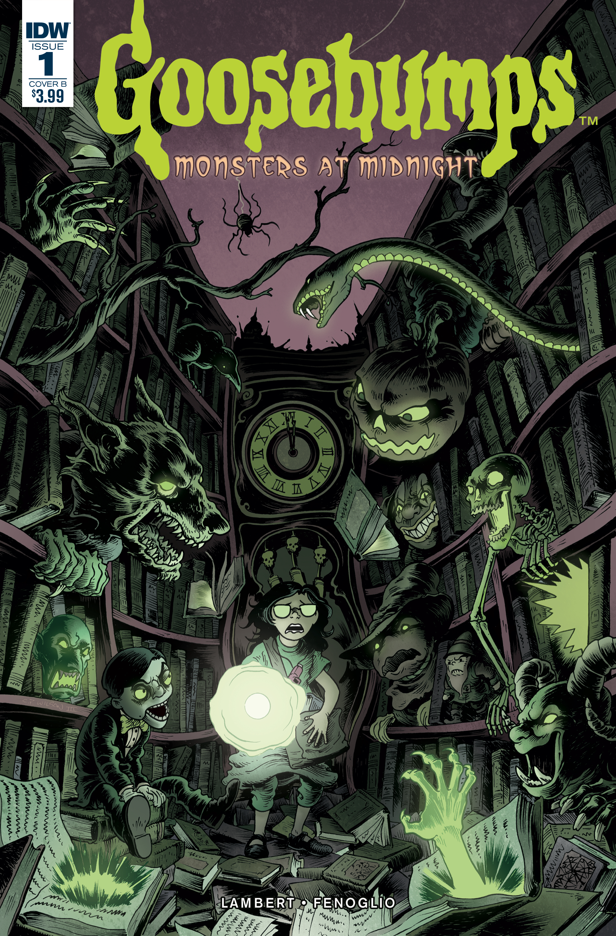 GOOSEBUMPS MONSTERS AT MIDNIGHT #1 (OF 3) CVR B WILSON III