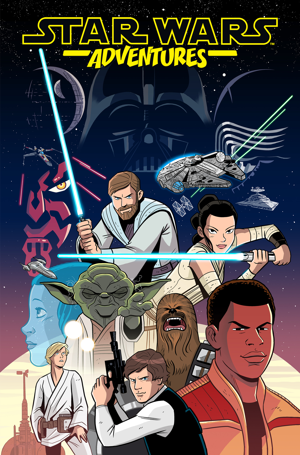 STAR WARS ADVENTURES TP VOL 01 (AUG170383)