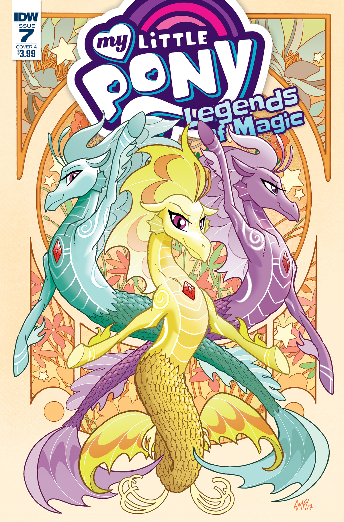 MY LITTLE PONY LEGENDS OF MAGIC #7 CVR A FLEECS