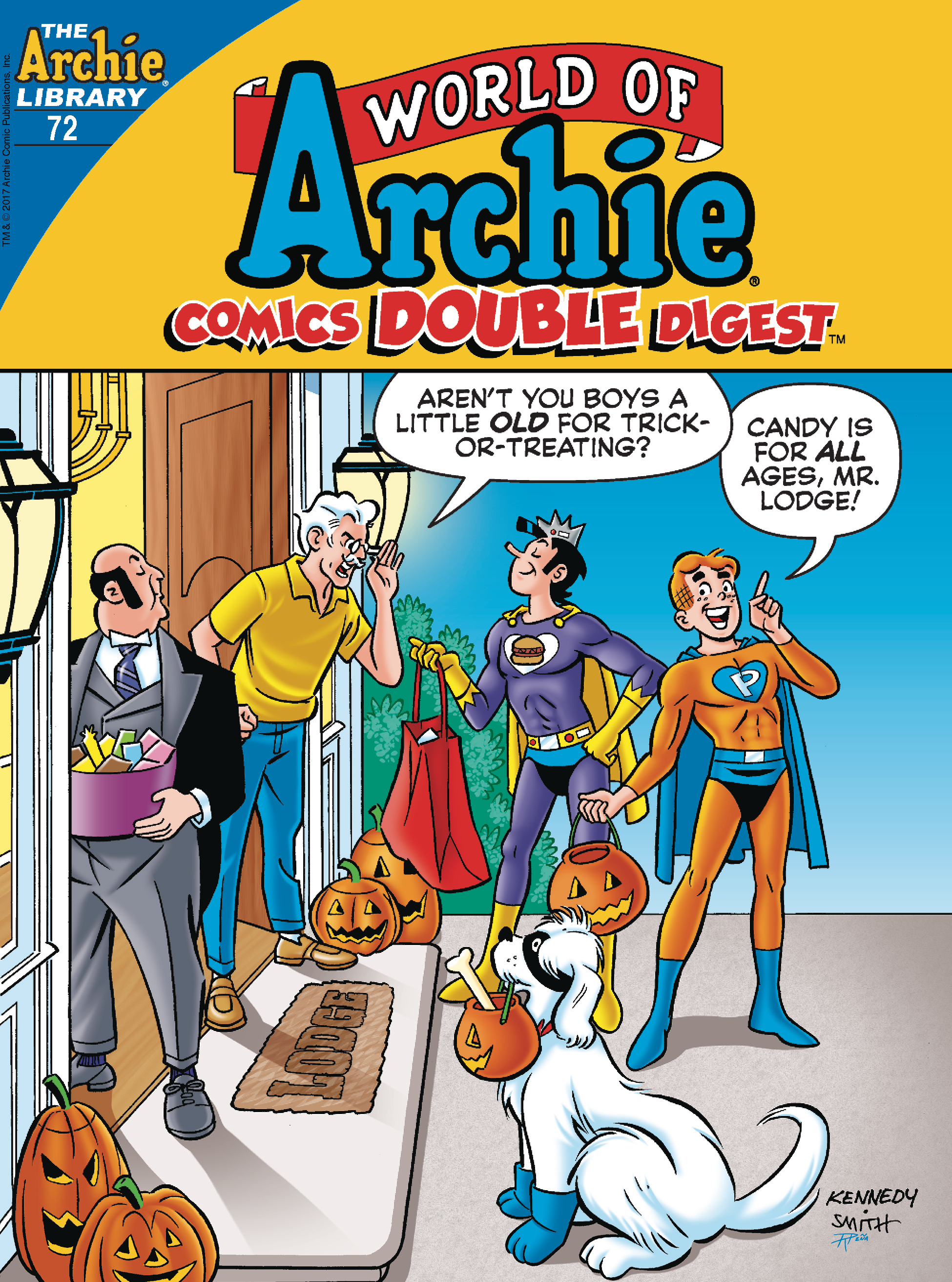 WORLD OF ARCHIE COMIC DOUBLE DIGEST #72