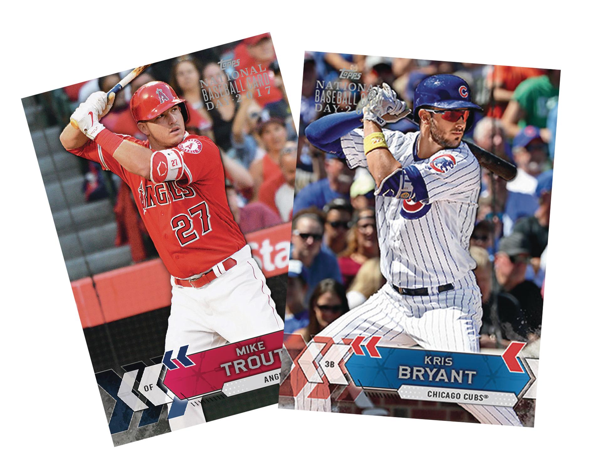 May178299 Topps 2017 National Baseball Card Day Previews