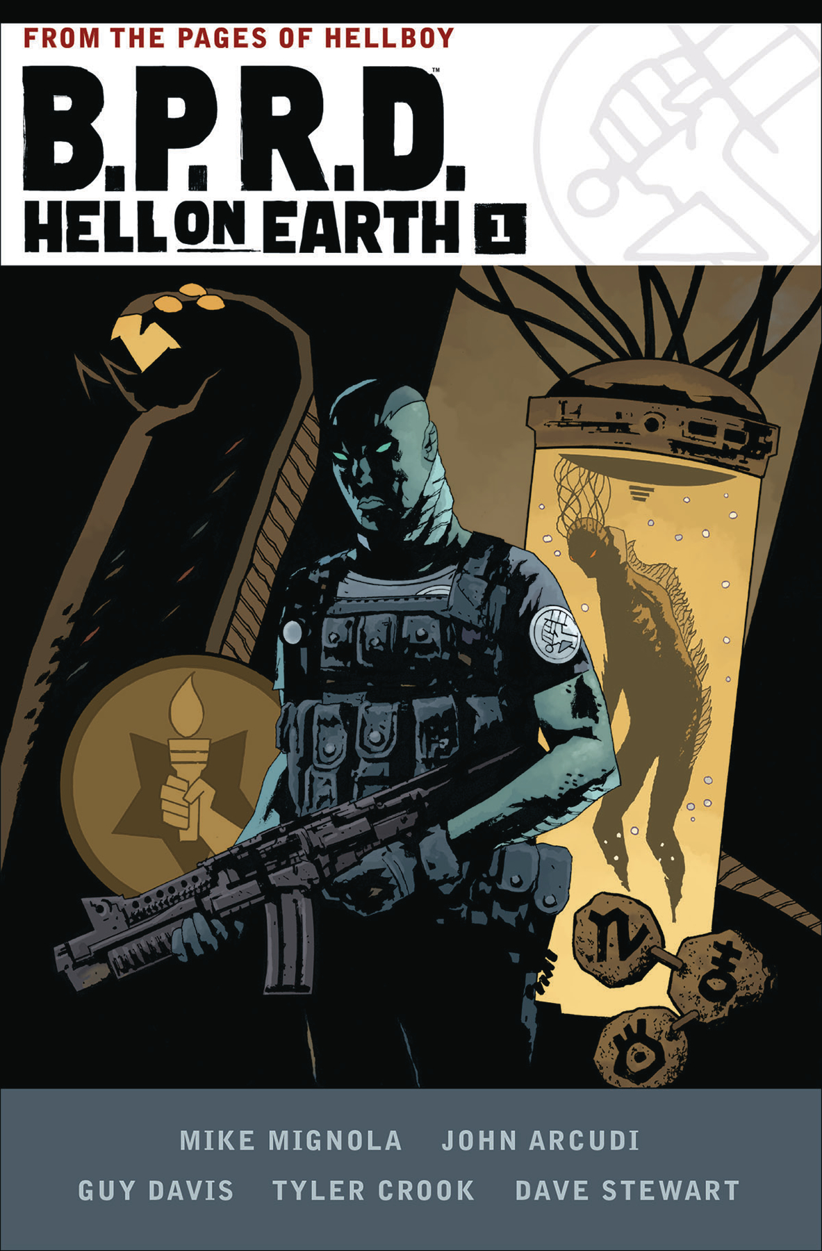 BPRD HELL ON EARTH HC VOL 01 (AUG170025)