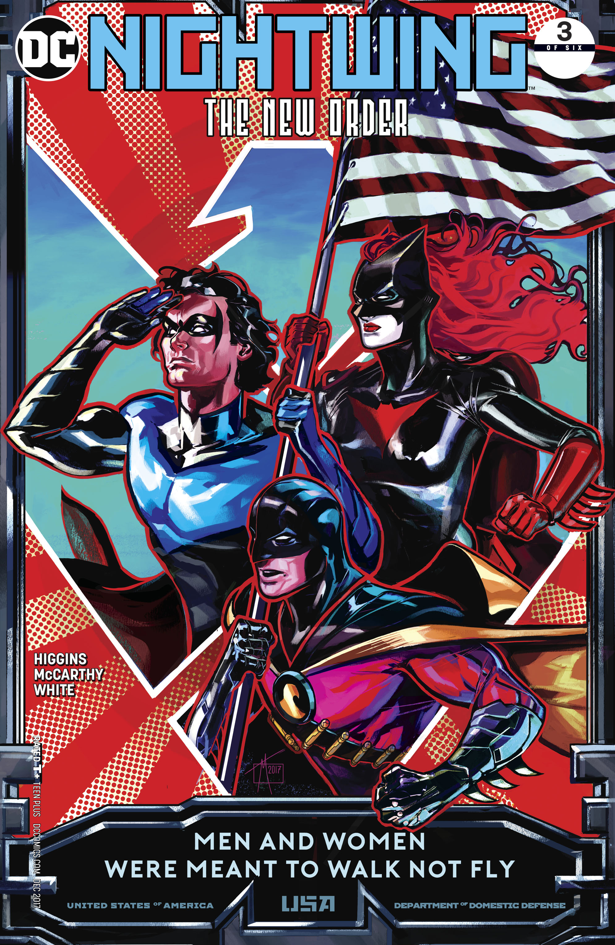 NIGHTWING THE NEW ORDER #3 (OF 6)