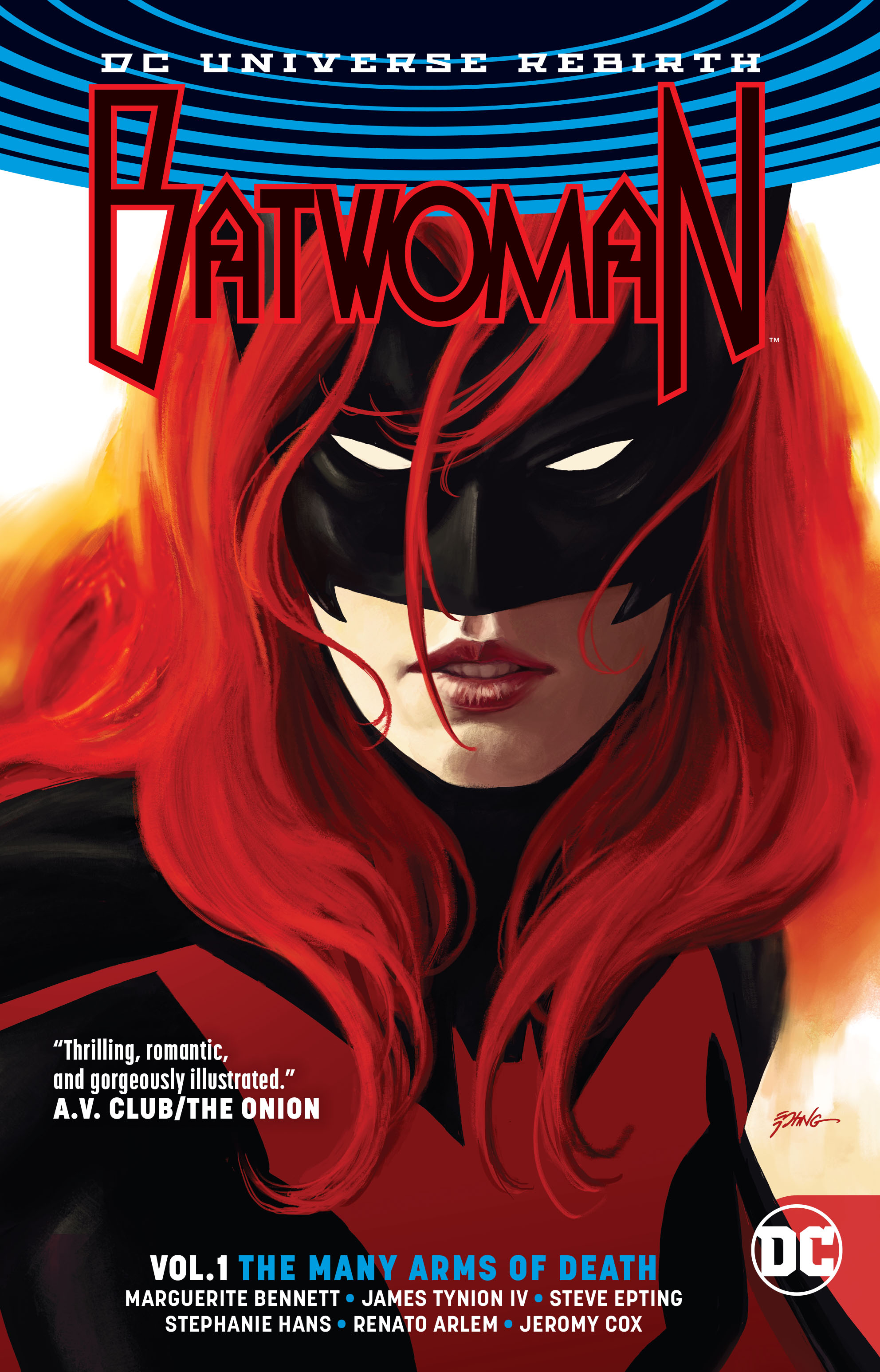BATWOMAN TP VOL 01 THE MANY ARMS OF DEATH (REBIRTH) (AUG1703