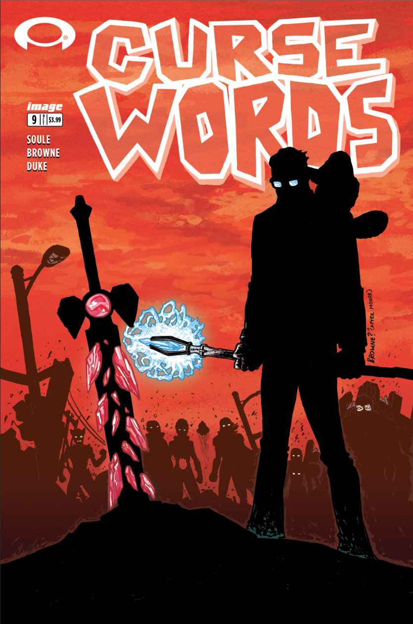 CURSE WORDS #9 CVR C WALKING DEAD #6 TRIBUTE VAR (MR)