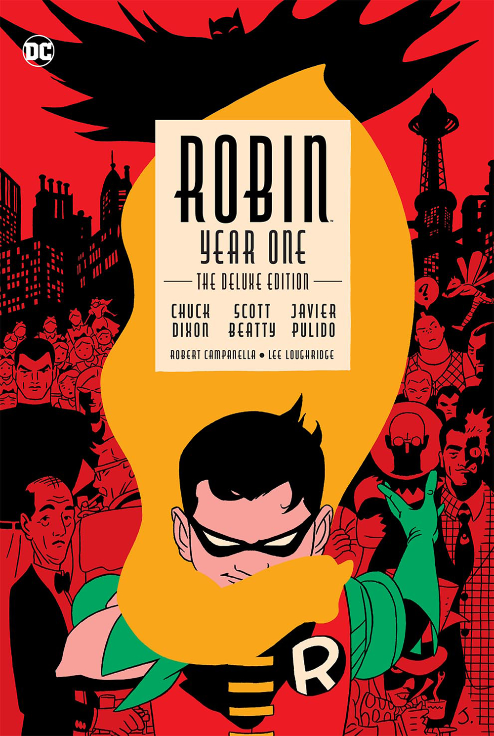 ROBIN YEAR ONE DELUXE EDITION HC (AUG170341)