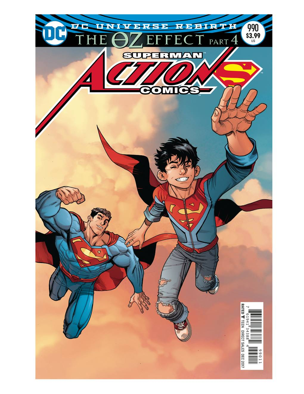 ACTION COMICS #990 LENTICULAR ED