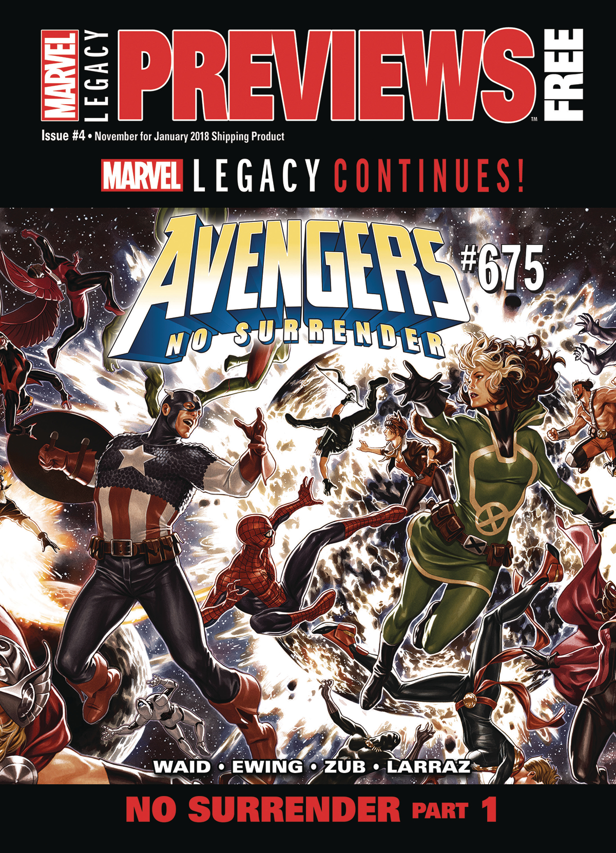 MARVEL PREVIEWS VOL 04 #4 NOVEMBER 2017 EXTRAS