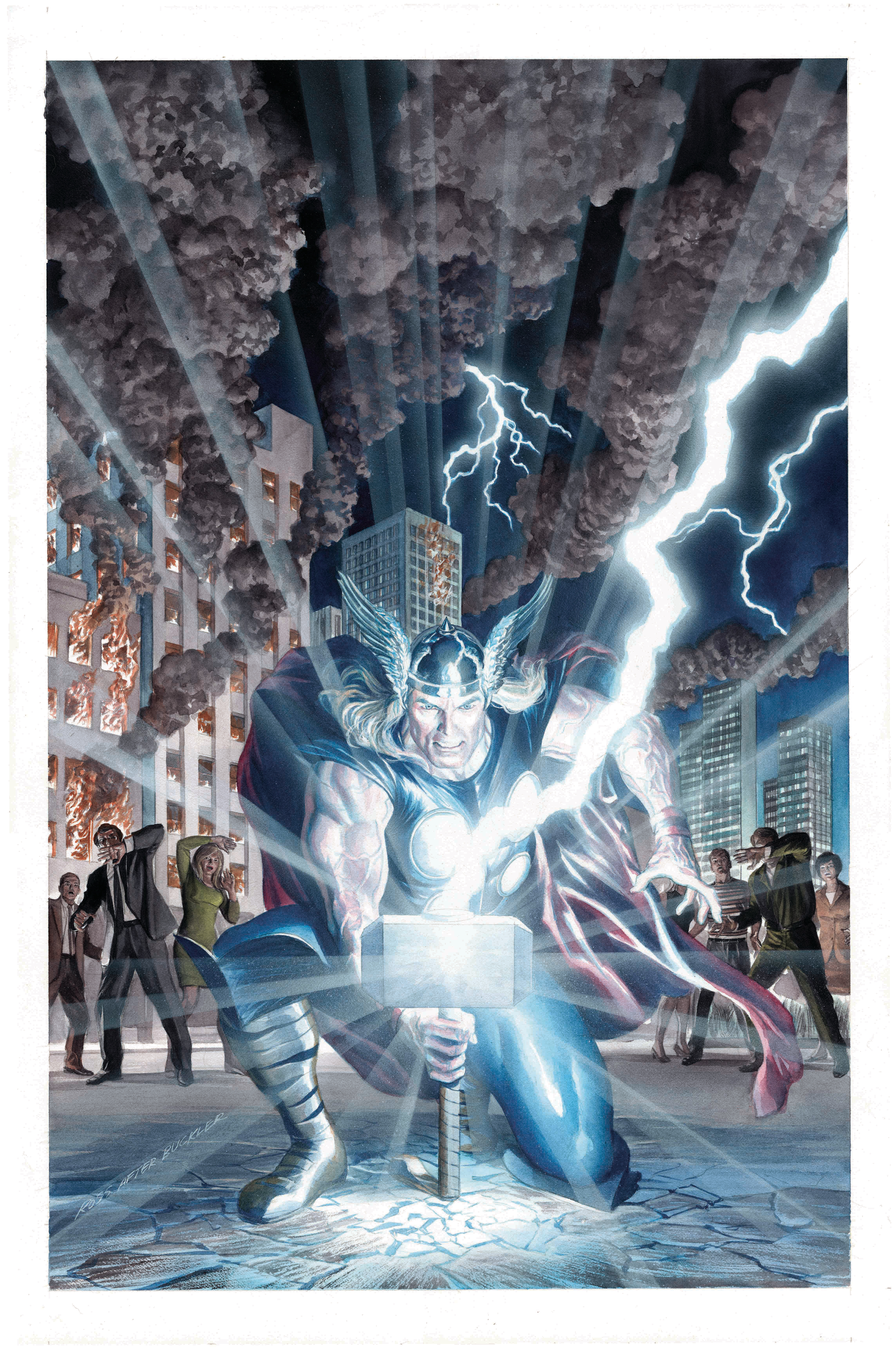 MIGHTY THOR #701 BY ROSS POSTER