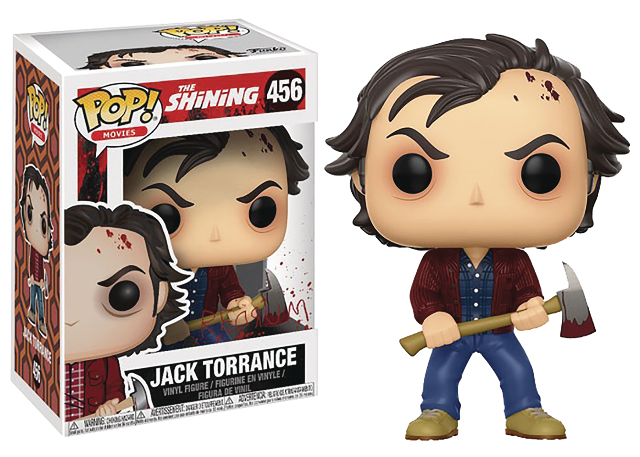 POP SHINING JACK TORRANCE VINYL FIGURE