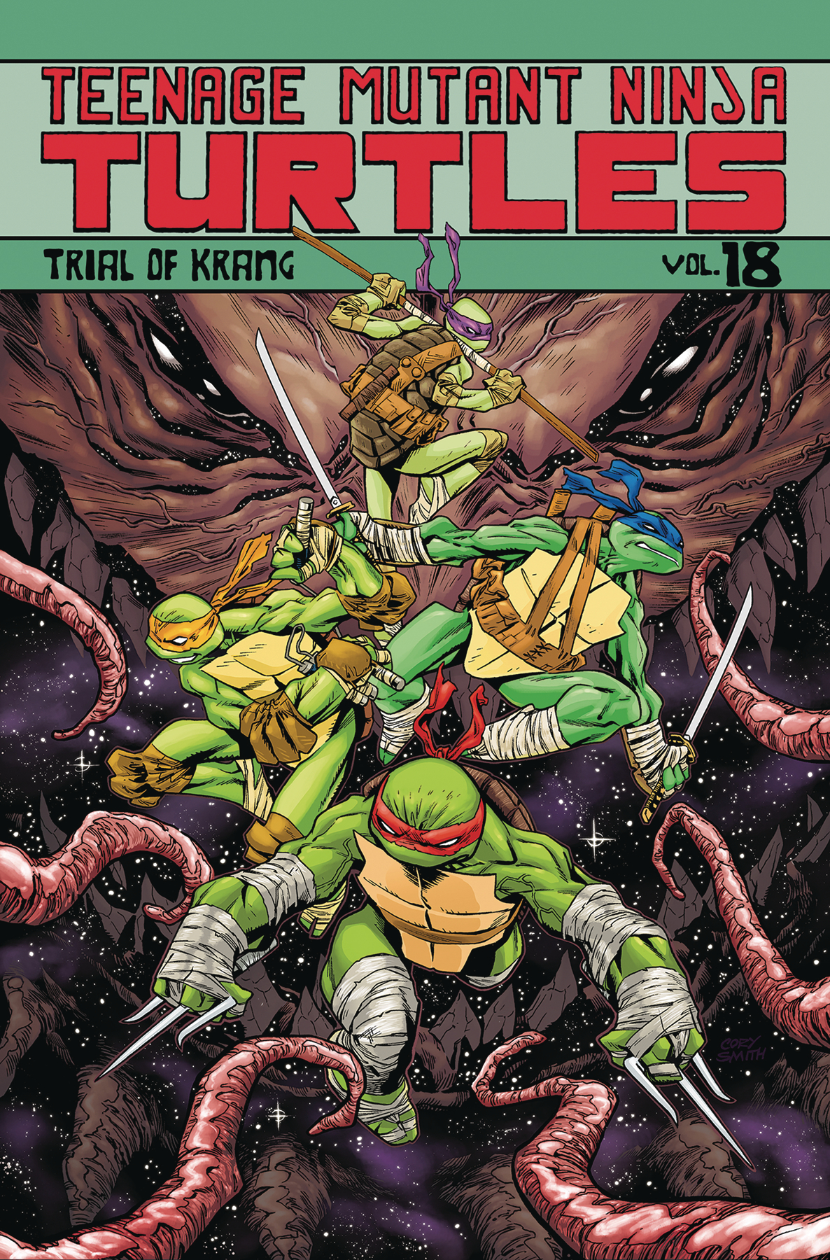TMNT ONGOING TP VOL 18 TRIAL OF KRANG