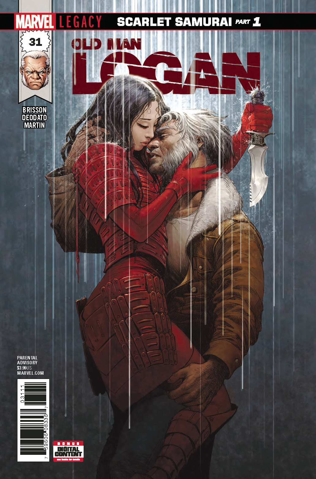OLD MAN LOGAN #31 LEG