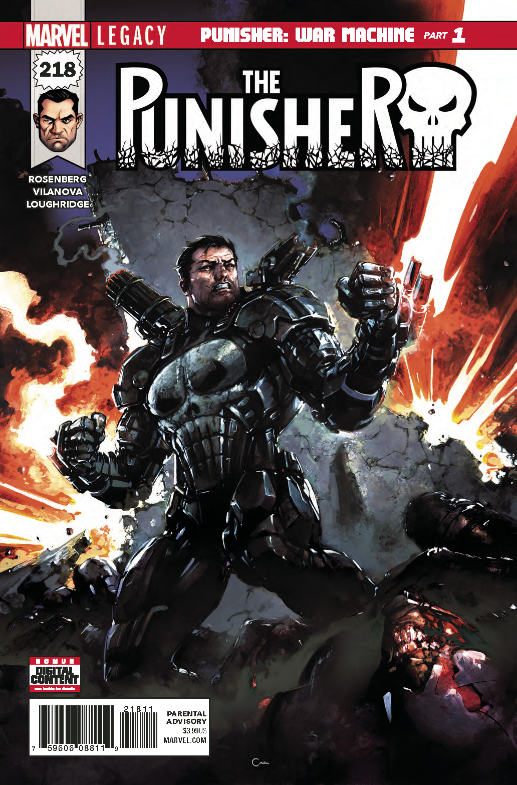 PUNISHER #218 LEG