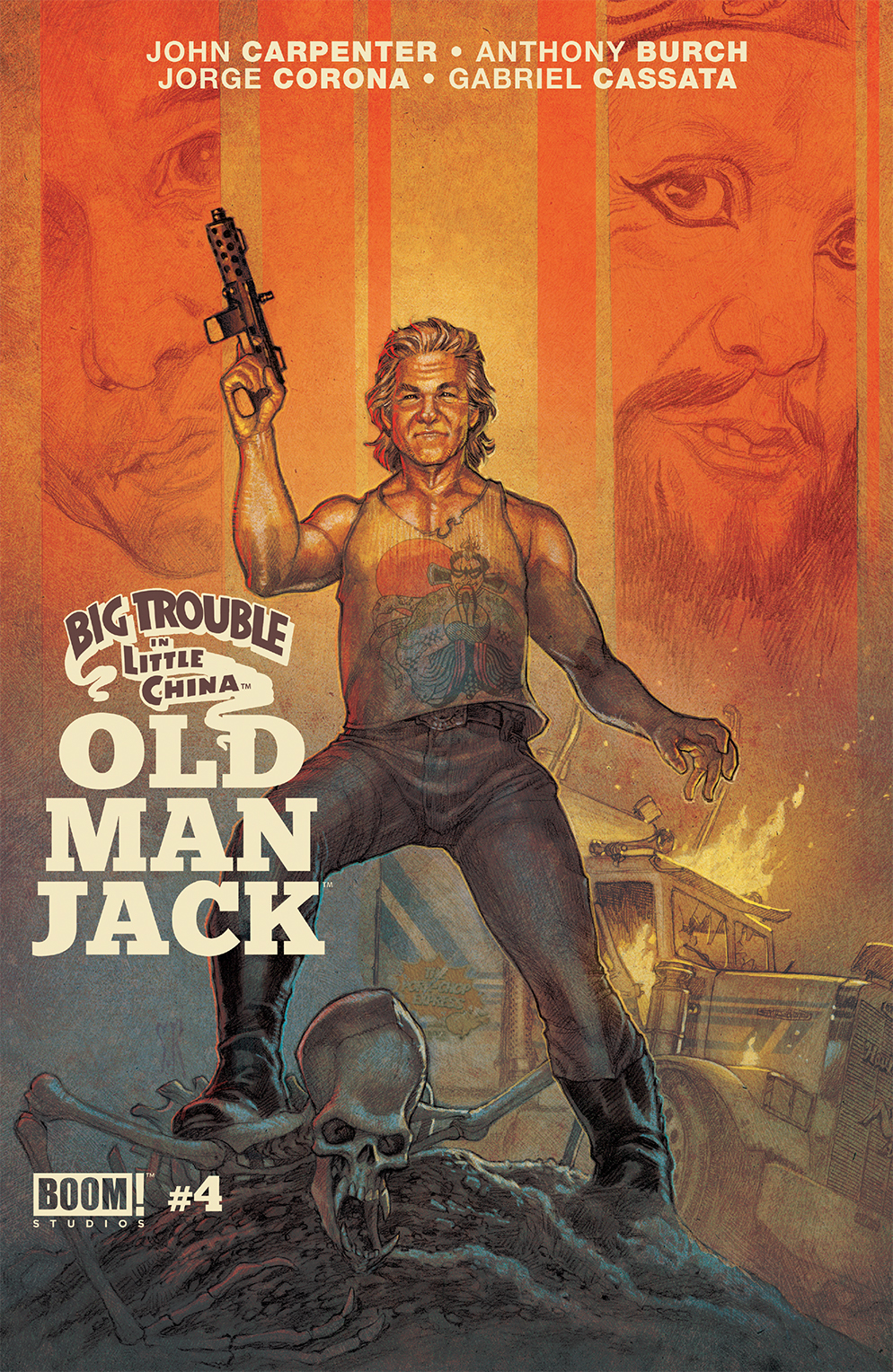BIG TROUBLE IN LITTLE CHINA OLD MAN JACK #4 MAIN & MIX