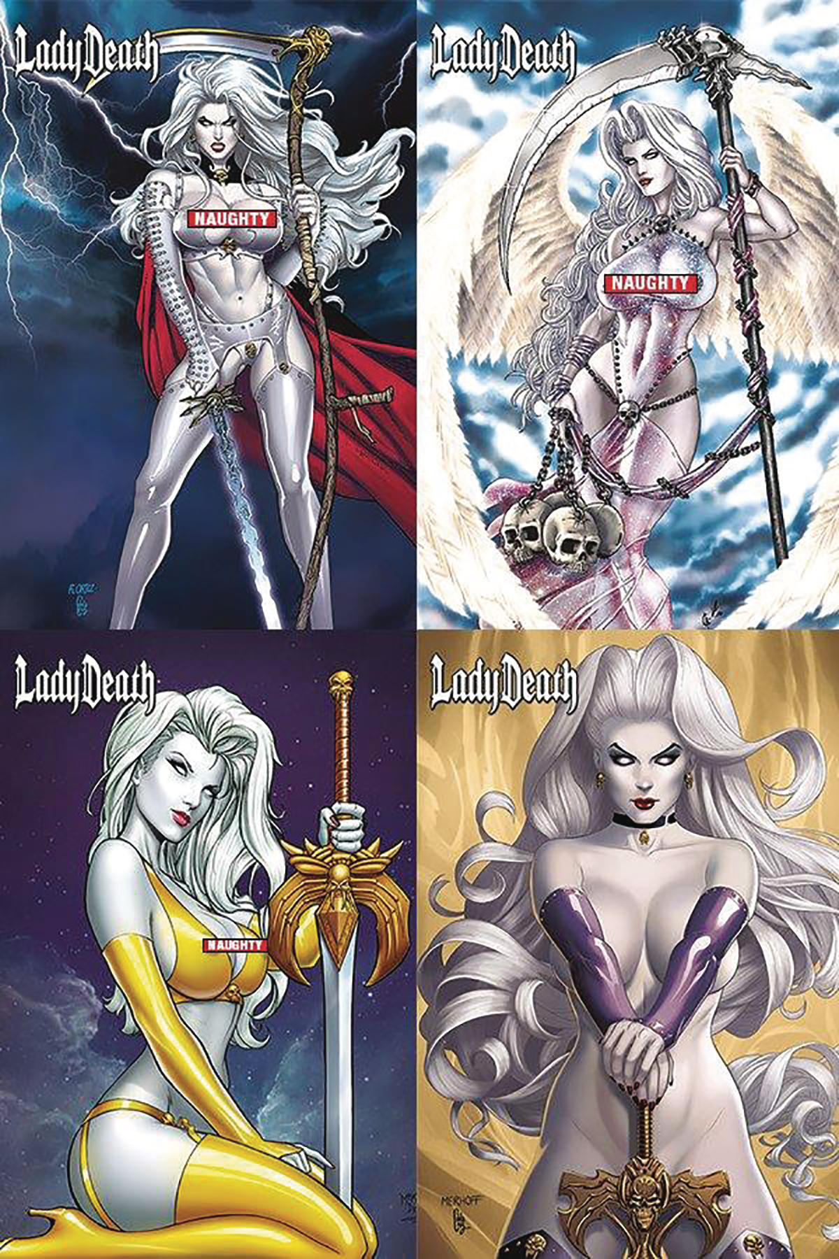 oct171407 lady death naughty gift box mr previews world