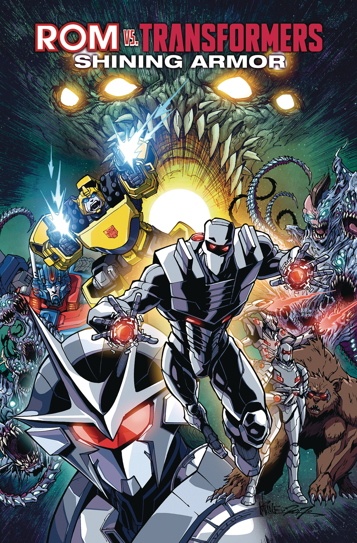 ROM VS TRANSFORMERS SHINING ARMOR TP