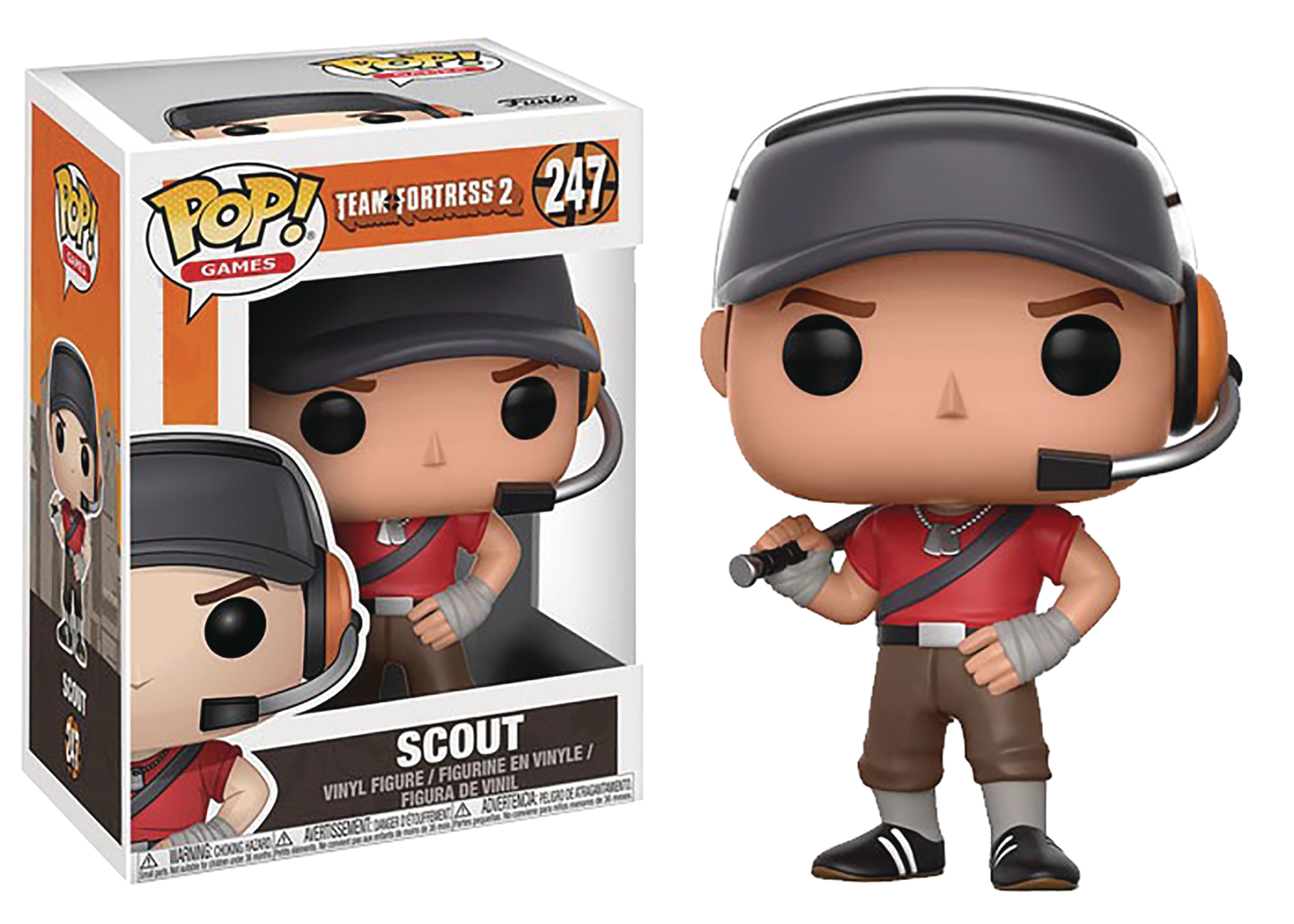 jul178288 pop team fortress 2 scout vinyl fig previews world