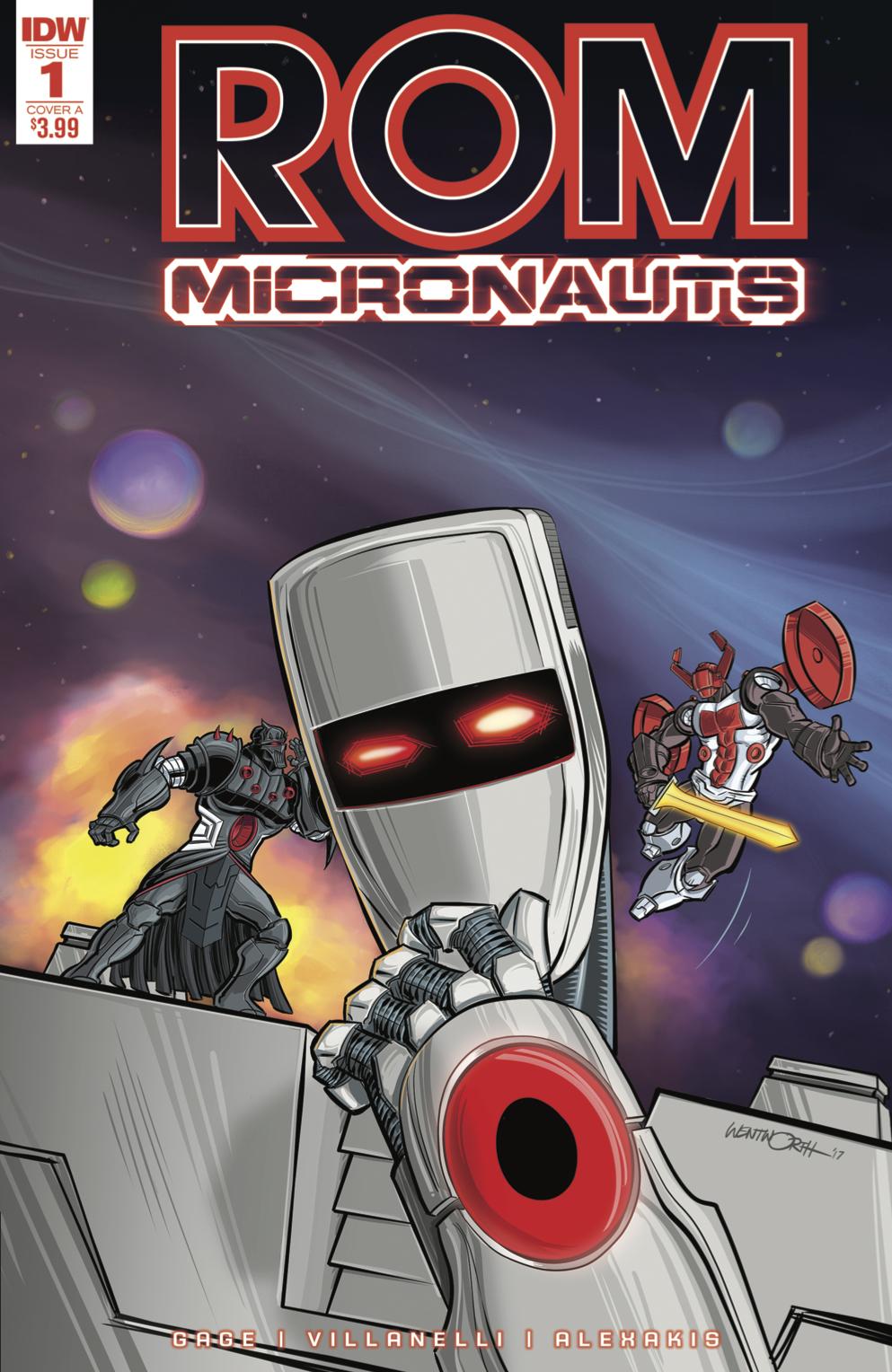 Rom & Micronauts