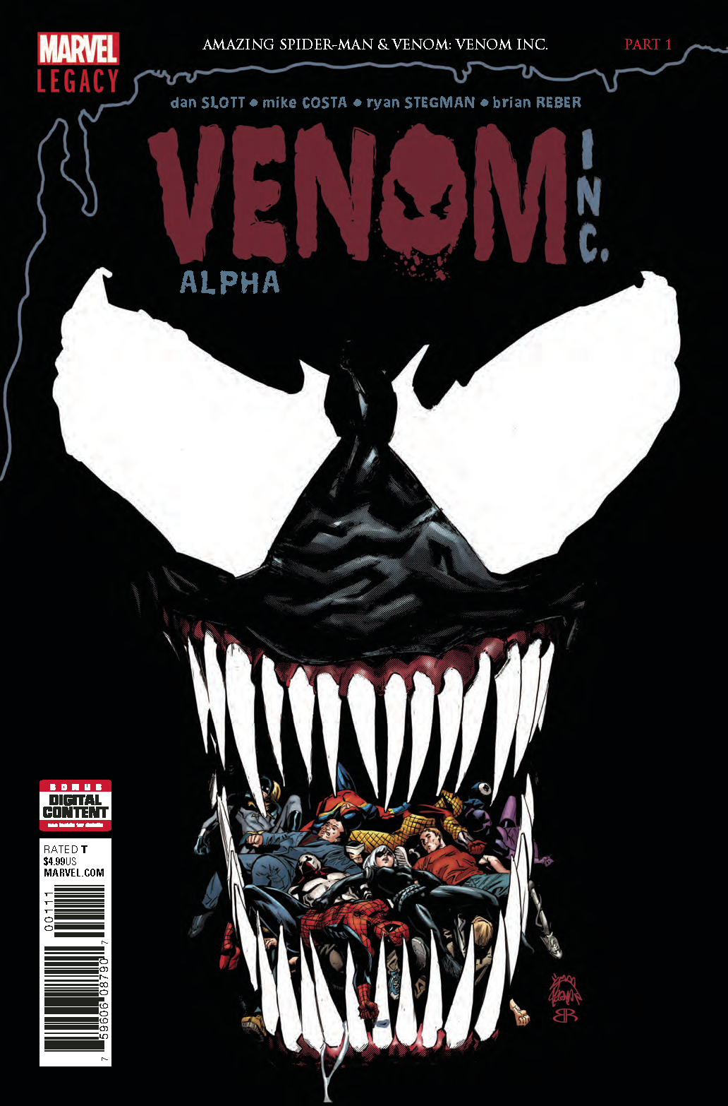 AMAZING SPIDER-MAN VENOM INC ALPHA #1