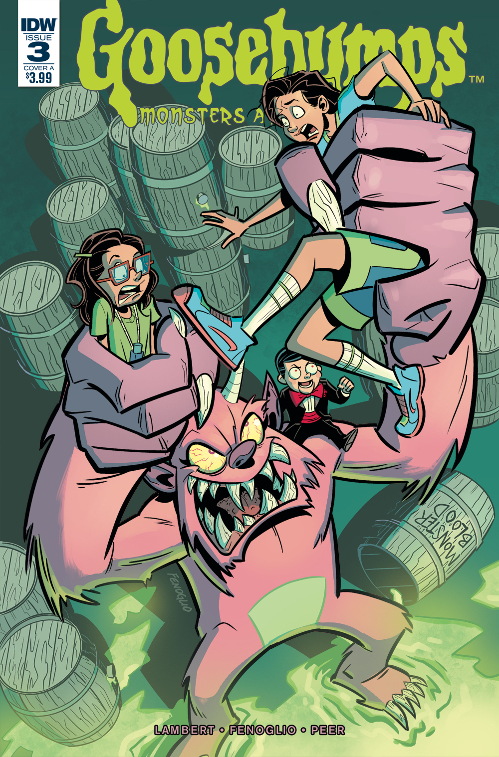 GOOSEBUMPS MONSTERS AT MIDNIGHT #3