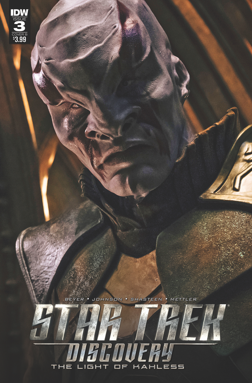 STAR TREK DISCOVERY #3 CVR B PHOTO