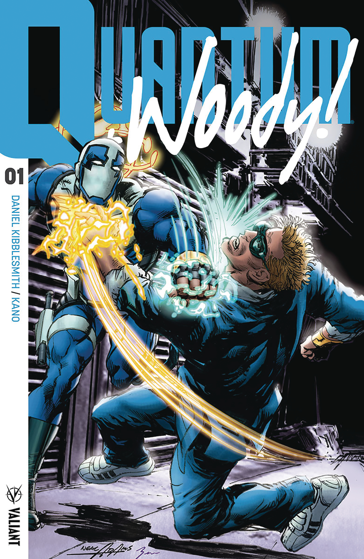 QUANTUM & WOODY (2017) #1 CVR D 50 COPY INCV ICON ADAMS (NET