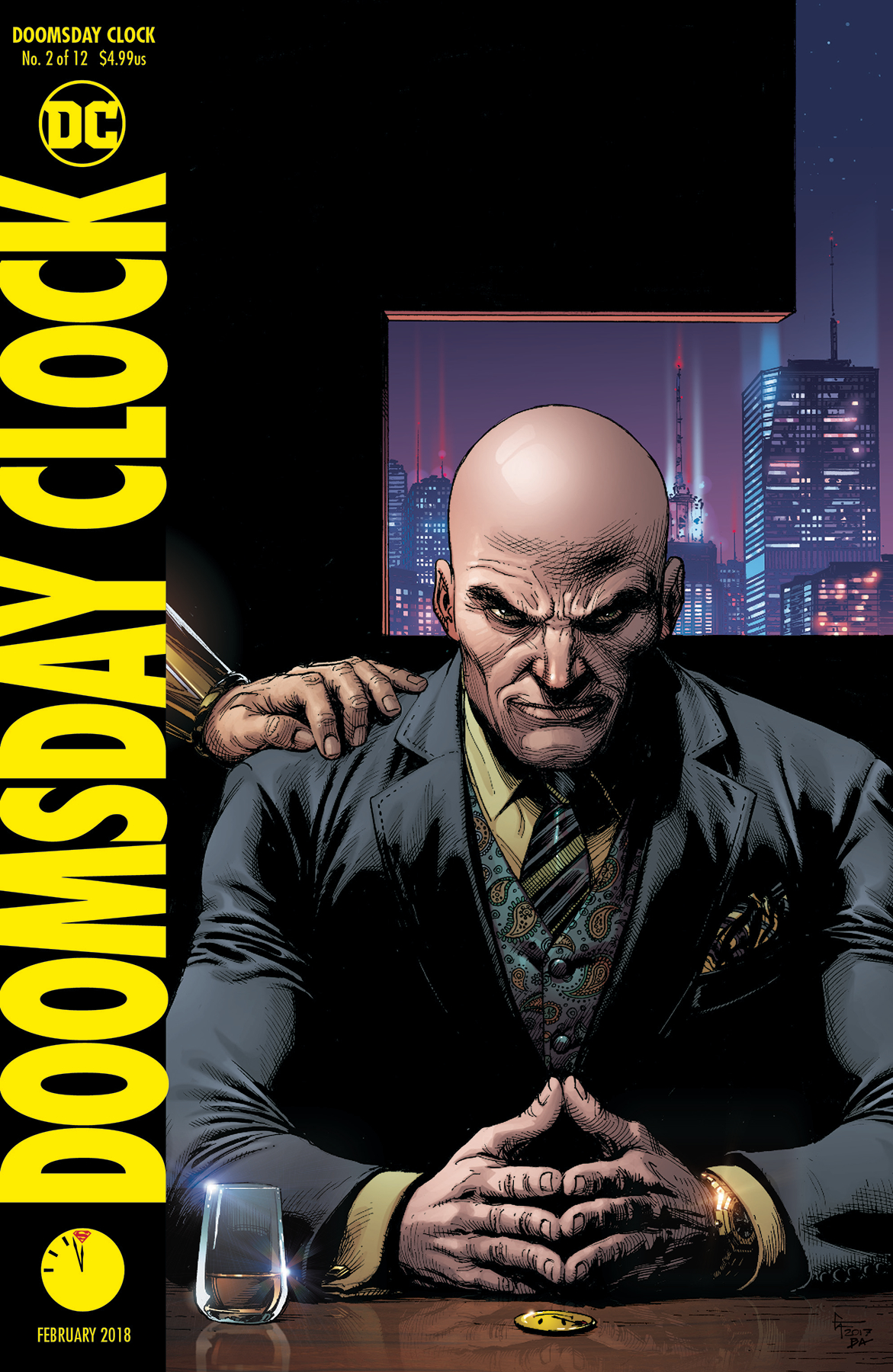 DOOMSDAY CLOCK #2 (OF 12) VAR ED