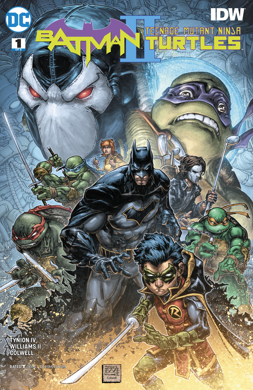 BATMAN TEENAGE MUTANT NINJA TURTLES II #1