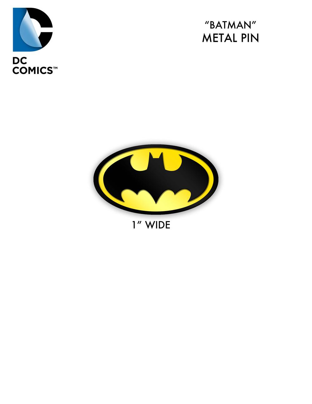 Oct170014 fcbd 2018 dc comics batman symbol metal pins 50 ct bag fcbd 2018 dc comics batman symbol metal pins 50 ct bag buycottarizona