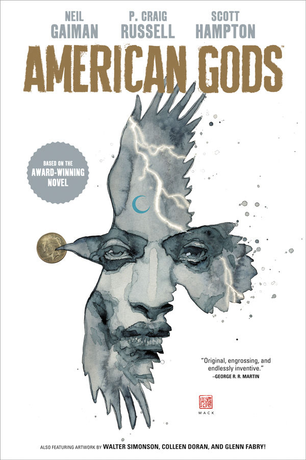 NEIL GAIMAN AMERICAN GODS HC VOL 01 SHADOWS (OCT170049)