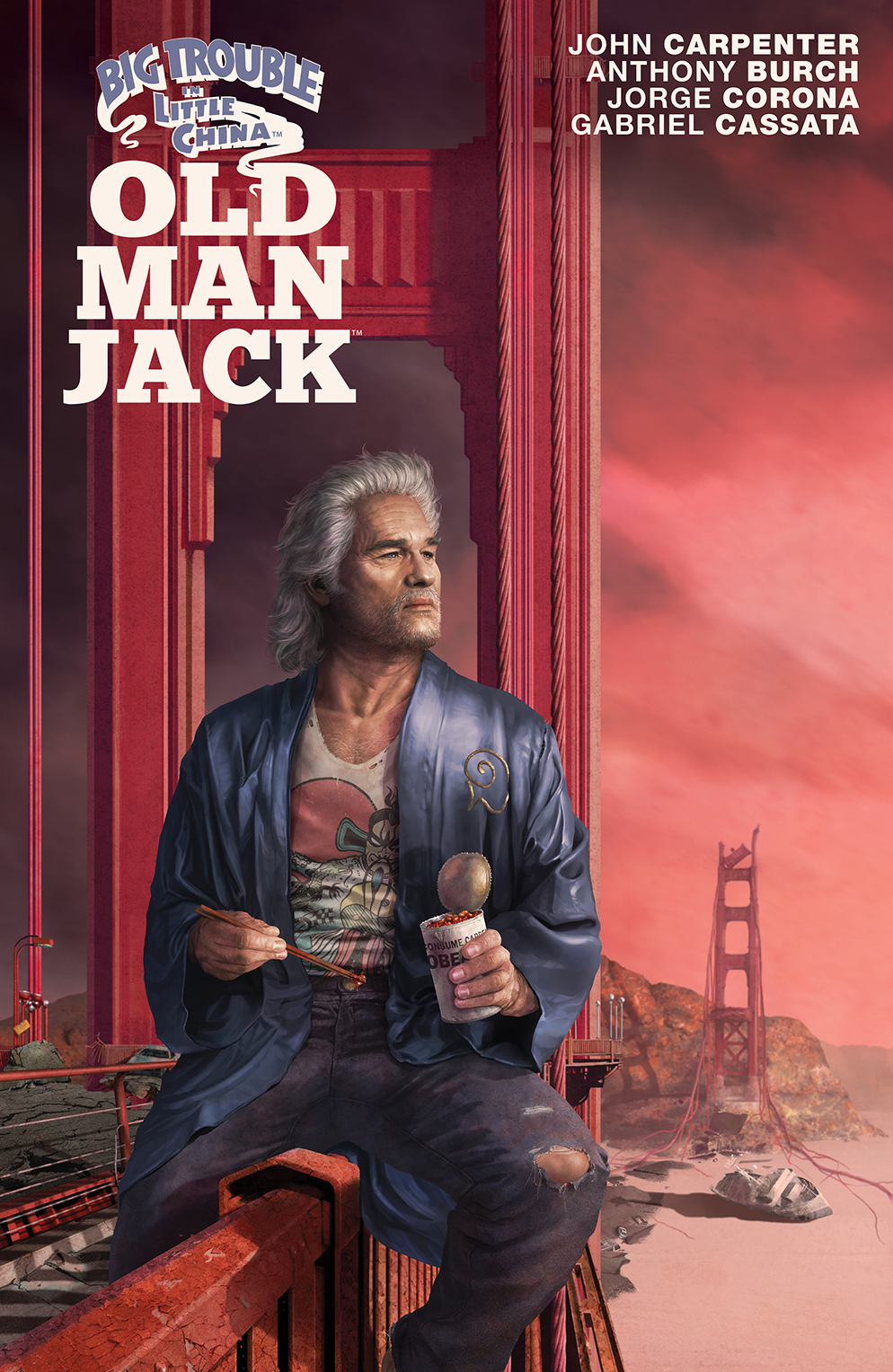 BIG TROUBLE IN LITTLE CHINA OLD MAN JACK #5