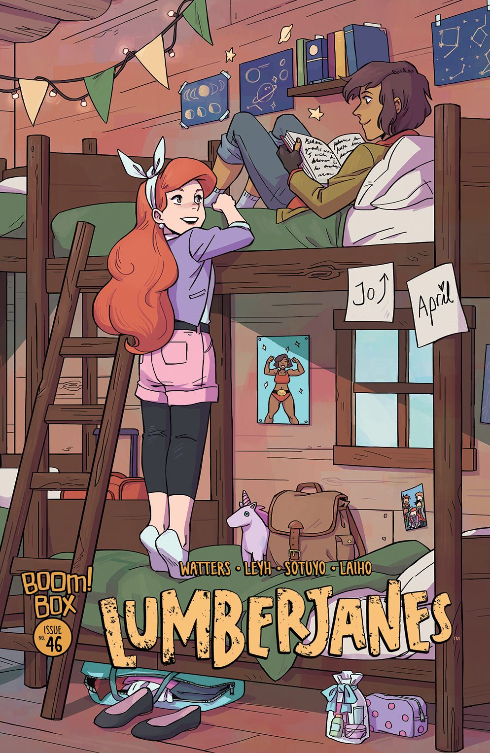 LUMBERJANES #46 SUBSCRIPTION WONG VAR