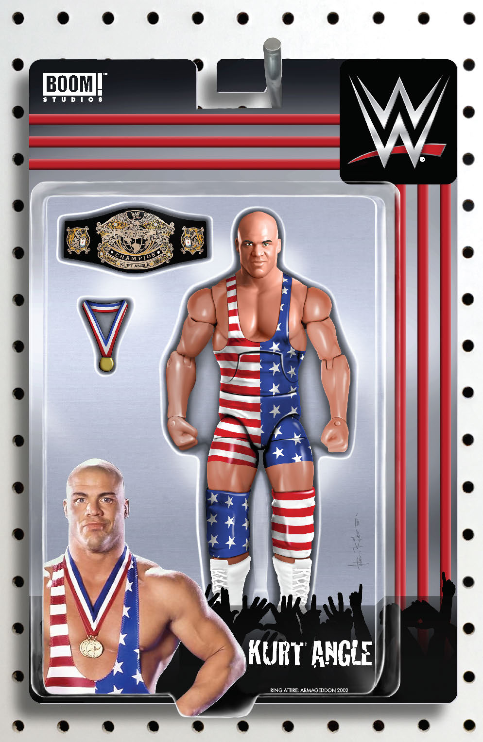 WWE #13 RICHES ACTION FIGURE VAR