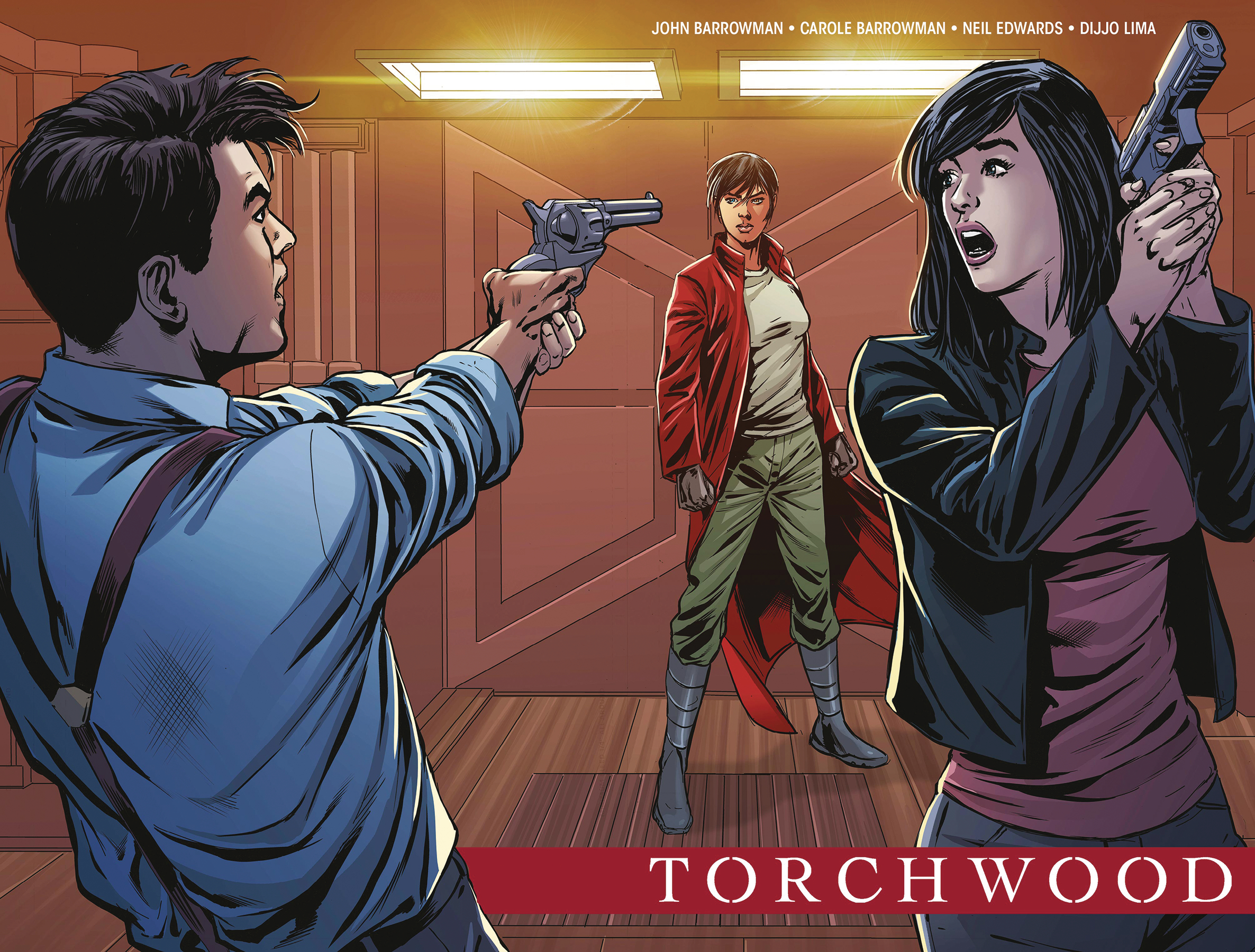 TORCHWOOD THE CULLING #1