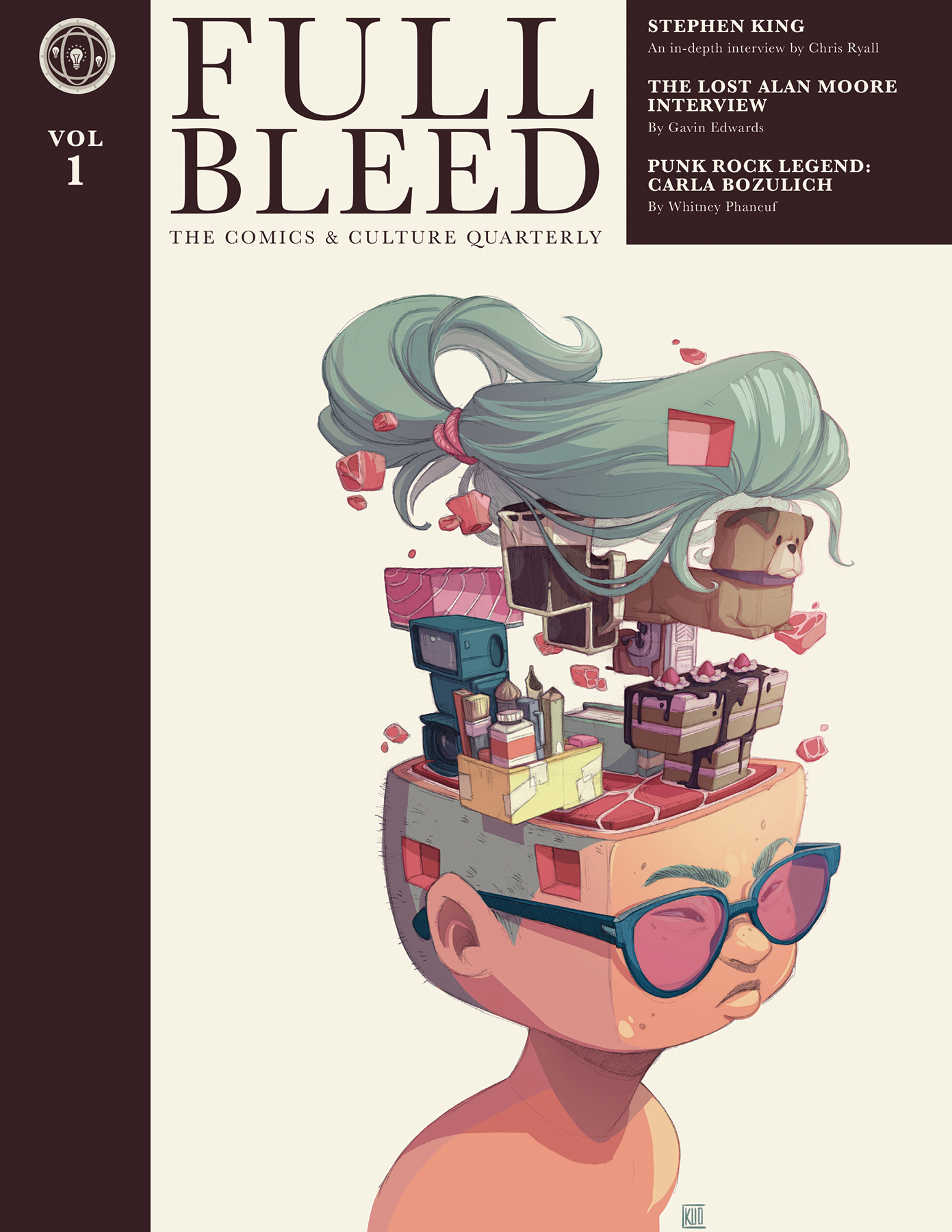 FULL BLEED COMICS & CULTURE QUARTERLY HC VOL 01