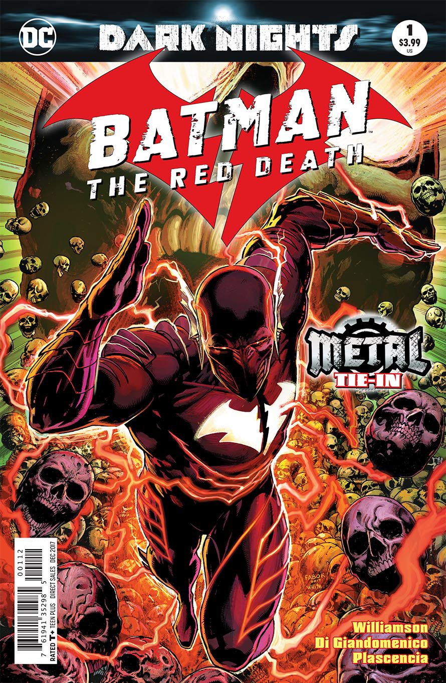 BATMAN THE RED DEATH #1 2ND PTG