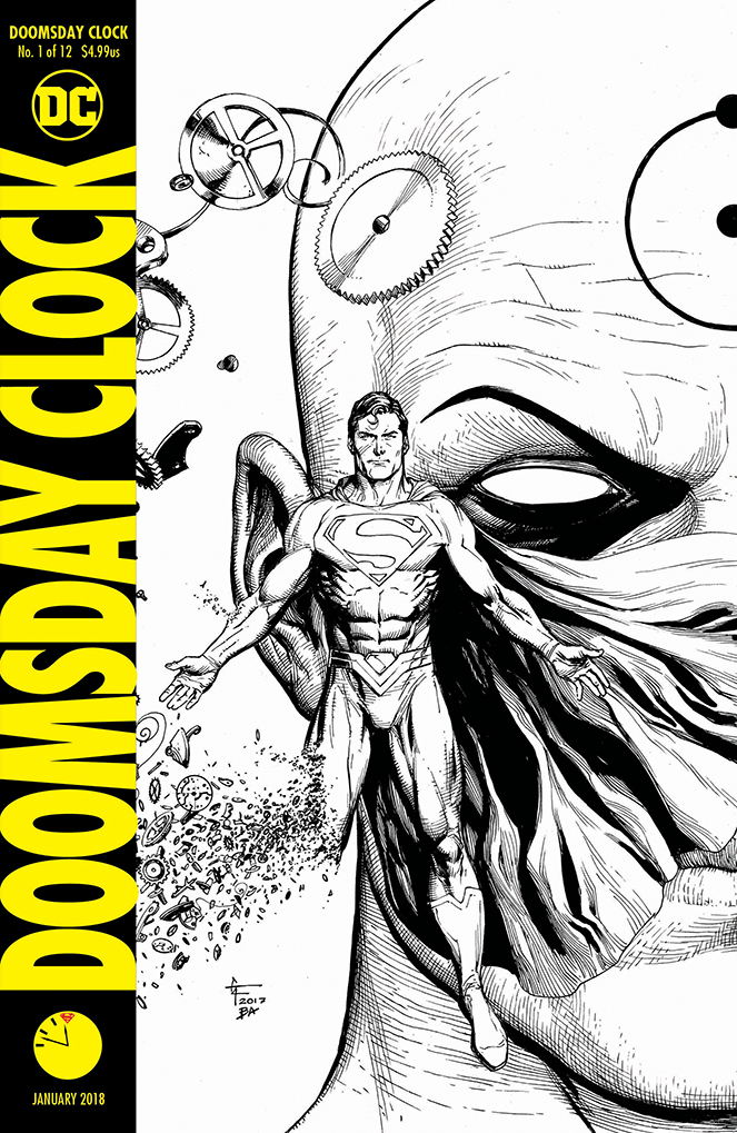 DOOMSDAY CLOCK #1 #1 (OF 12) 11 57PM RELEASE VARIANT ED