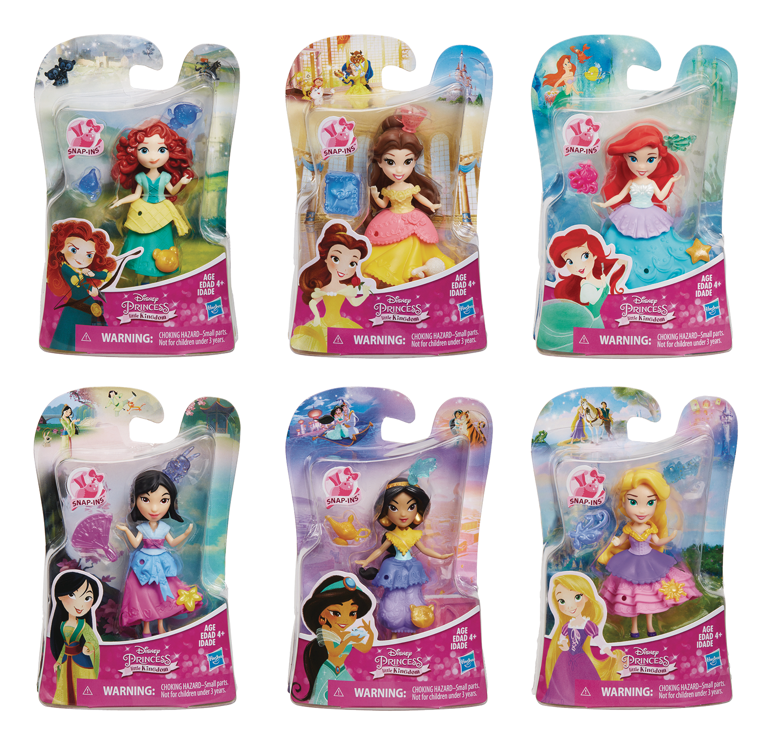 DISNEY PRINCESS SMALL DOLL ASST 201701