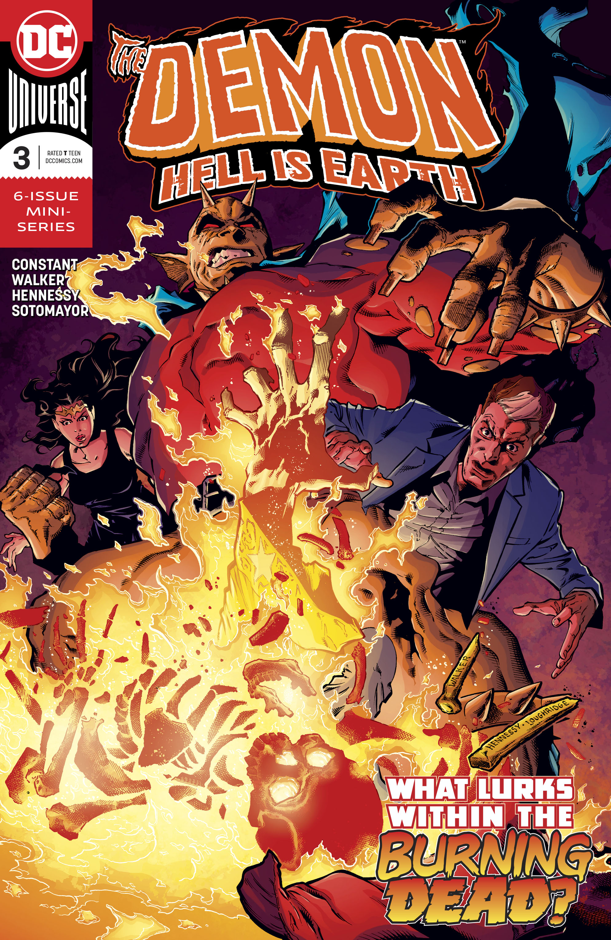 DEMON HELL IS EARTH #3