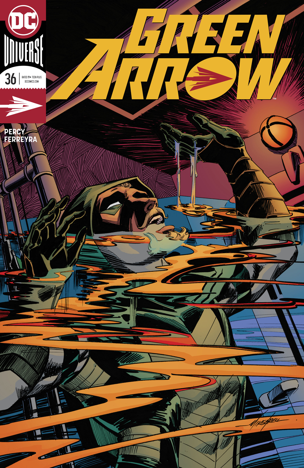 GREEN ARROW #36 VAR ED