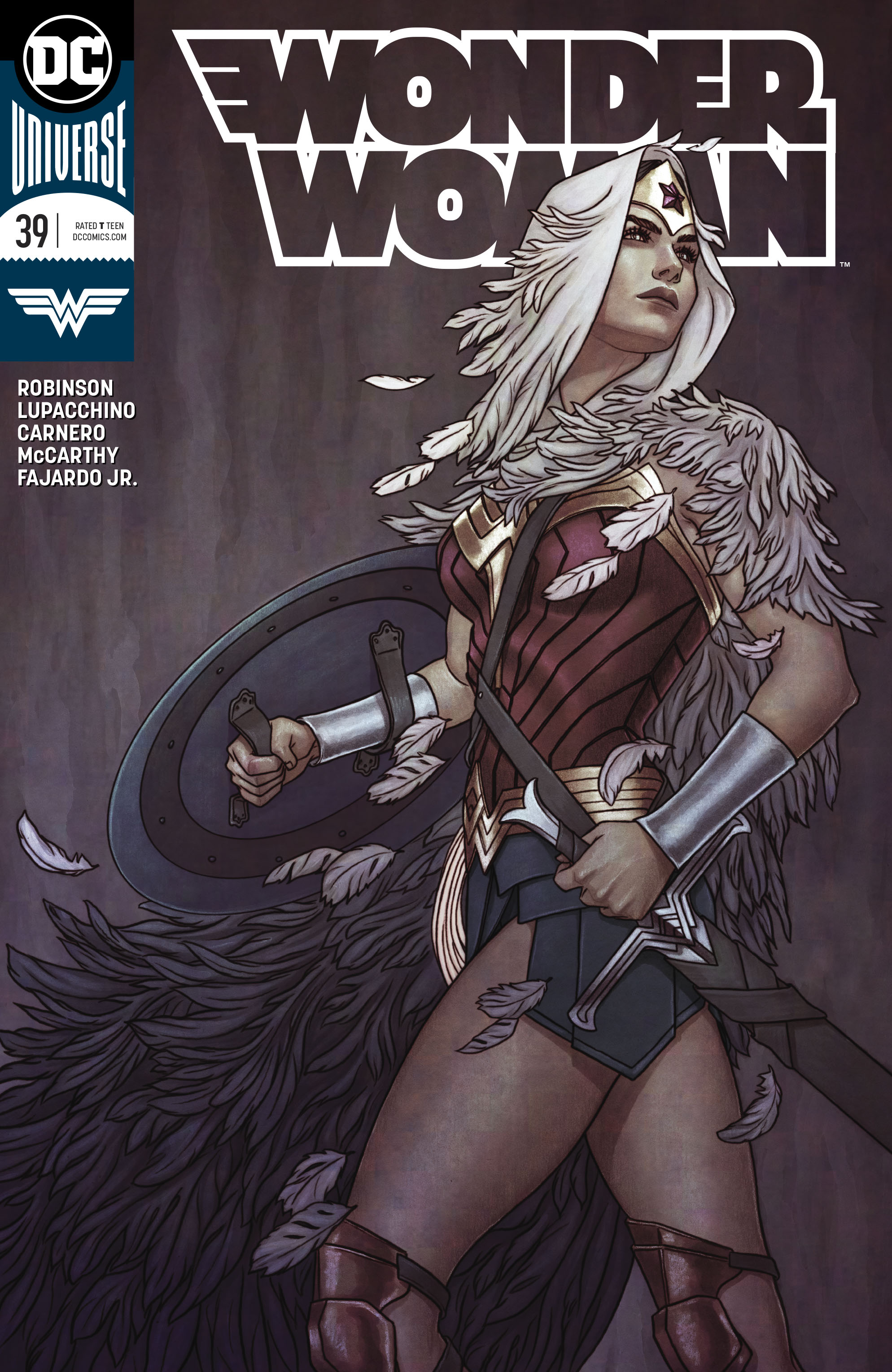 WONDER WOMAN #39 VAR ED